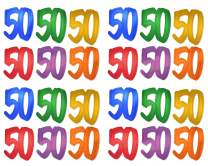 """Beistle 57771-50 24-Pack""""50"""" Foil Silhouettes, 12-Inch"""
