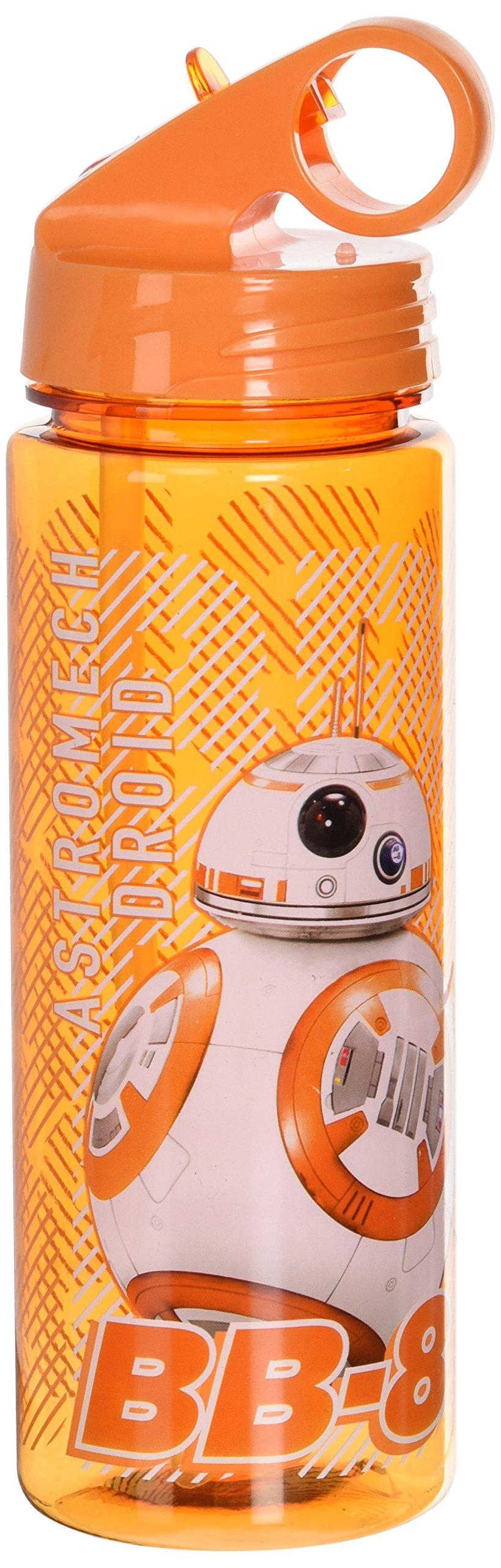 Silver Buffalo SE0764 Star Wars Episode 7 BB-8 Tritan Water Bottle, 20-Ounces
