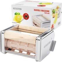Nuvantee Ravioli Maker Attachment - 150 mm Detachable Ravioli Cutter - Stainless Steel Ravioli Machine