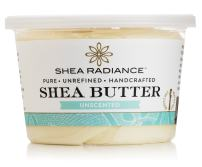 Shea Radiance Pure Unrefined Organic All Natural Moisturizer Shea Butter Whipped Cream Tub for Body Hand Face Belly Skin & Hair (Unscented Large)