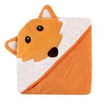 Luvable Friends Velour Animal Hooded Towel, Fox