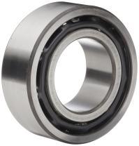 "Timken 5208K Double Row Ball Bearing, No Snap Ring, Conrad-Type, Metric, 40 mm ID, 80 mm OD, 1-3/16"" Width, Max RPM, 7650 lbs Static Load Capacity, 11600 lbs Dynamic Load Capacity"