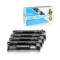 SuppliesOutlet remanufactured Toner Cartridge Replacement for HP 49X / Q5949X (Black,4 Pack)