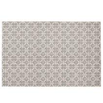 SHACOS Large Cotton Rug 4x6 ft Woven Cotton Area Rug for Living Room Kitchen Entryway Bedroom Machine Washable (4'x6', Floral)