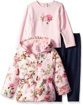 Little Me Girls' Toddler Jacket Set
