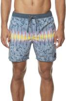 O'NEILL Men's Water Resistant Stretch Volley Swim Boardshorts, 17 Inch Outseam
