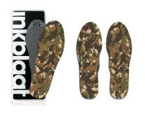 Inkblaat Odor Fighting Insoles – 24 Designs - Quirky, Fashion, Eco-Friendly Shoe Inserts – Medium - Sport Camo