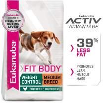 Eukanuba Fit Body Weight Control Medium Breed Dry Dog Food