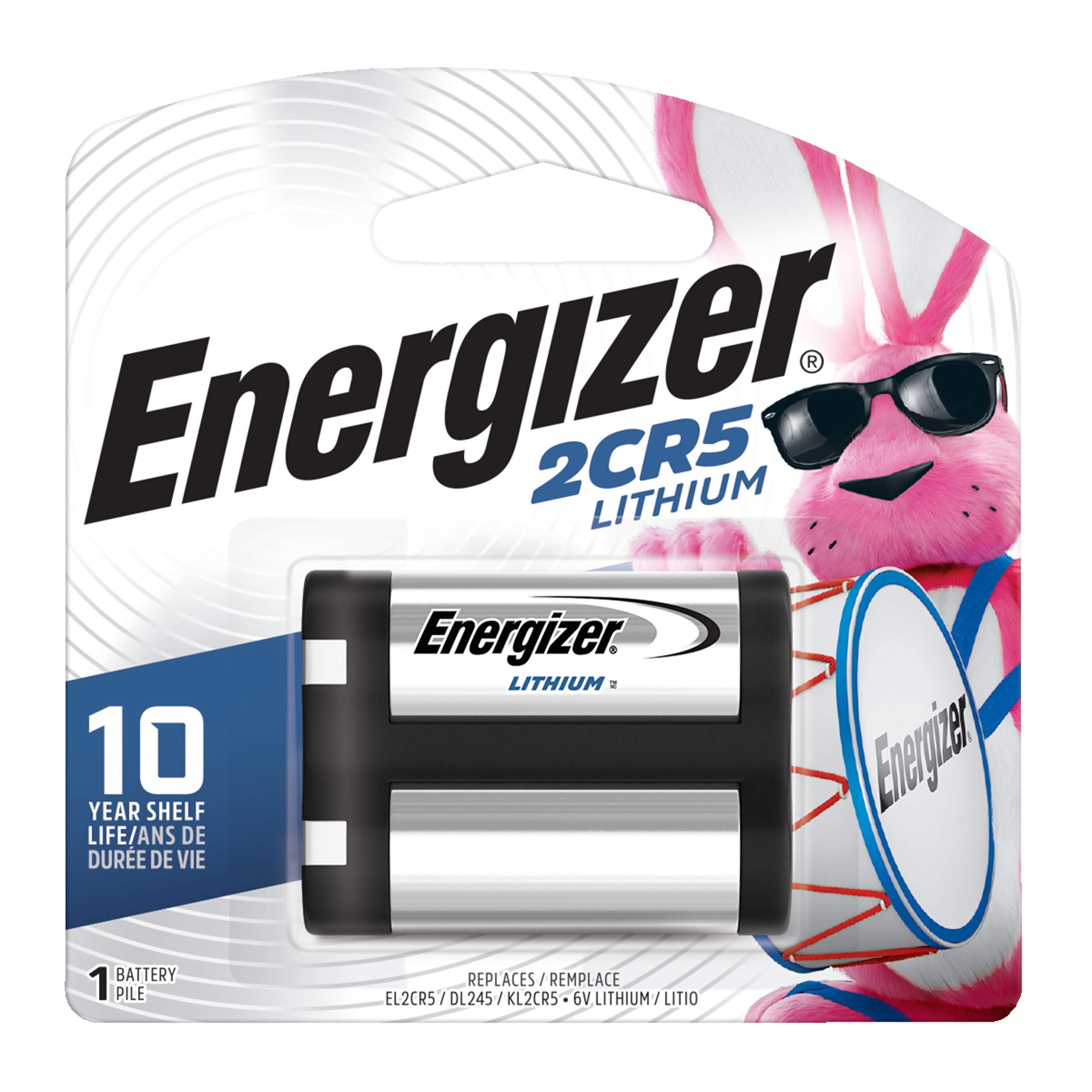 Energizer EL2CR5BP Advanced Photo Lithium Battery - Retail Packaging