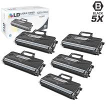 LD Compatible Toner Cartridge Replacement for Brother TN-360 High Yield (Black, 5-Pack)