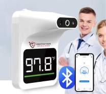 ThermoAccess C1 Pro: Most Accurate Non-Contact Automated Thermometer Medical-grade Infrared Thermometer Wall-mounted with Bluetooth