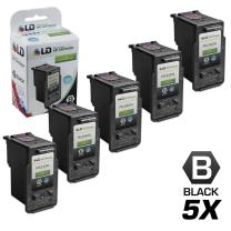 LD Remanufactured Ink Cartridge Replacement for Canon PG-240XL 5206B001 High Yield (Black, 5-Pack)