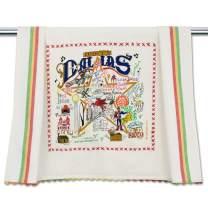 catstudio Dallas Dish & Hand Towel | Beautiful Award Winning Home Decor Artwork | Great For Kitchen & Bathroom