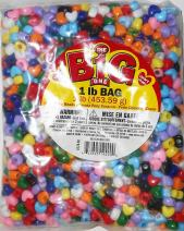 Darice 1100 Piece Pony Heart Shape Bead, Multicolor