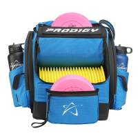 Prodigy Disc BP-1 V3 Disc Golf Backpack - Golf Bag Organizer - Holds 30+ Discs Plus Storage - Tear and Water Resistant - Pro Quality Bag for Disc and Frisbee Golf
