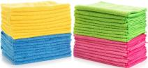Simpli-Magic 79107-36 Large Microfiber Cloths, Pack of 36, Multi Color, 36 Pack