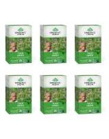 ORGANIC INDIA Tulsi Green Tea, Immune Support, Organic, Non-GMO, and Fair Trade (6 Pack)