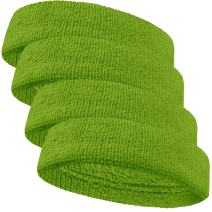 Couver Baby Infant Terry Solid Color Headband/Terry Cloth Head Band - 4pieces