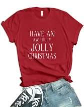 Decrum Christmas Shirts for Women - Xmas Gifts Tee