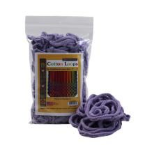 """Friendly Loom Potholder Cotton Loops 7"""" Traditional Size Loops Make 2 Potholders, Weaving Crafts for Kids and Adults-Lavender by Harrisville Designs"""