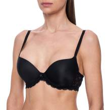 frugue Women's Silicone Filled Water Push-Up Sexy T-Shirt Bra