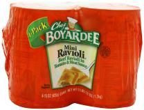 Chef Boyardee Mini Ravioli, 15 oz, 24 Pack
