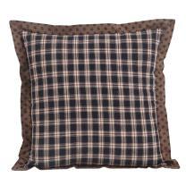 """VHC Brands Bingham Star 16"""" x 16"""" Fabric 32897 Pillow"""