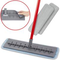 """Tyröler Bright Tools 100% Silicone Flexible Head Microfiber Mop 2 Wet and Dry Pad (18"""" Wide) 
