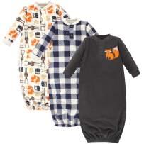 Hudson Baby Unisex Baby Boys Fleece Gowns