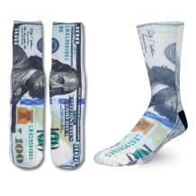 Zmart Funny Socks for Men Boys Crazy Designer, Cool 3D Print Basketball Tube Socks