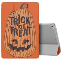 MoKo Case Fit New iPad Mini 5 2019 (5th Generation 7.9 inch), Halloween Slim Lightweight Smart Shell Stand Cover with Translucent Frosted Back Protector, with Auto Wake/Sleep - Transform Pumpkin