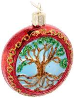 Old World Christmas Assortment Glass Blown Ornaments for Christmas, Tree of Life