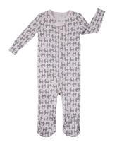 Robeez Baby Girls 1-Piece Cotton Modal Footed Sleeper