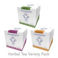 Trankebar Herbal Medley Tea (Dandelion & Elderflower, Heather & Forest Fruit, Sea Buckthorn & Sunflower Petals 3 pack of 15 Tea Bags) Premium Specialty Tea Made With Quality Ingredients