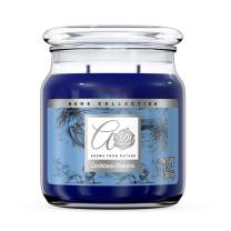 Aroma From Nature Caribbean Dreams 13 oz Home Collection Scented Candle - 1 Pack - Aromatherapy Candles - Home Fragrance - Apothecary Glass With Triple Wick