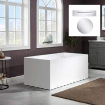 WOODBRIDGE B0086-C-Drain &O Bathtub, Chrome