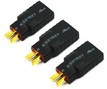 Readytosky T-Plug Deans Male to Traxxa Female Connector Adapter No Wires RC Battery Connectors(3PCS)
