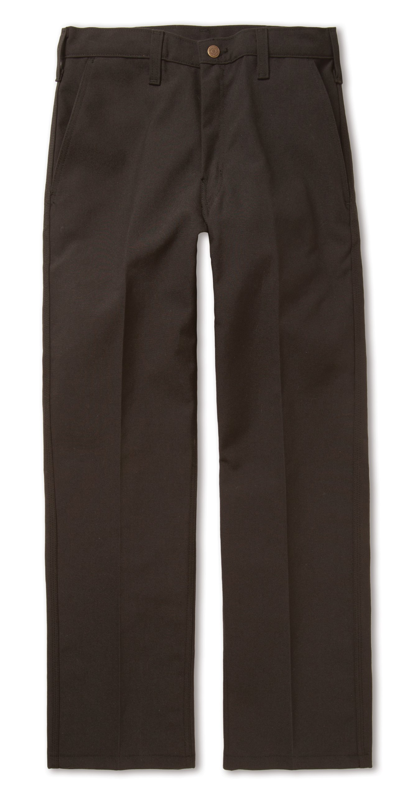 Workrite 402NX75BK36-34 Flame Resistant 7.5 oz Nomex IIIA Full-Cut Industrial Pant, 36 Waist Size, 34 Inseam, Black
