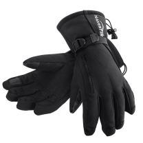 Waterproof Mens Ski Gloves - Winter Warm 3M Thinsulate Thermal Snowboard Gloves