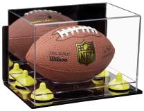 Better Display Cases Acrylic Mini - Miniature (not Full Size) Football Display Case