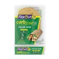 Flatout CarbDown, Italian Herb (1 Pack of 7 Flatbreads)