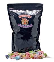 Dum Dum Lollipops - Bulk Candy - 2 Lbs (approx. 125 pieces) - Individually Wrapped Candy Suckers - Various Original Flavors - Sealed in Resealable Candy Bag