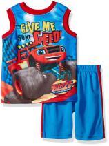 Nickelodeon Boys' Blaze Tank with Short Set