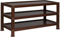 OneSpace 100% Recycled Paper TV Stand, Teak