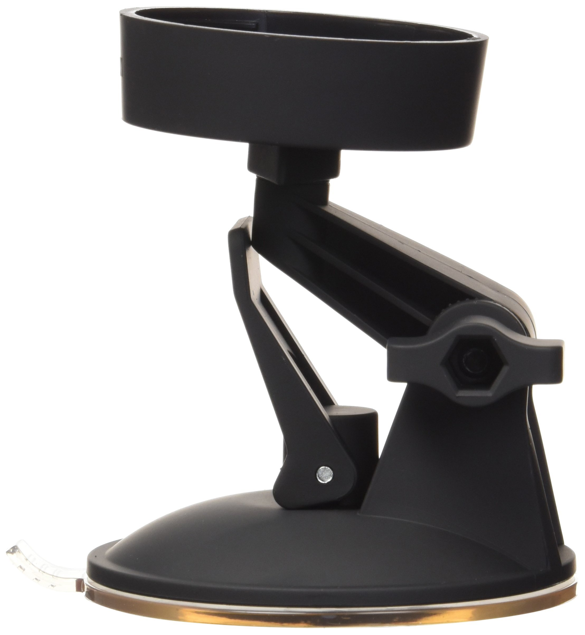 Doc Johnson Main Squeeze - Suction Cup Accessory - Swivels & Bends For Custom Positioning - Strogly Adheres to Any Smooth Non-Pourus Surface - Hands Fee Action