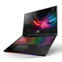 "Asus ROG Strix Hero II Gaming Laptop, 15.6"" 144Hz IPS Type Full HD, NVIDIA GeForce RTX 2060, Intel Core i7-8750H, 16GB DDR4, 512GB PCIe Nvme SSD, RGB KB, Windows 10, GL504GV-DS74"