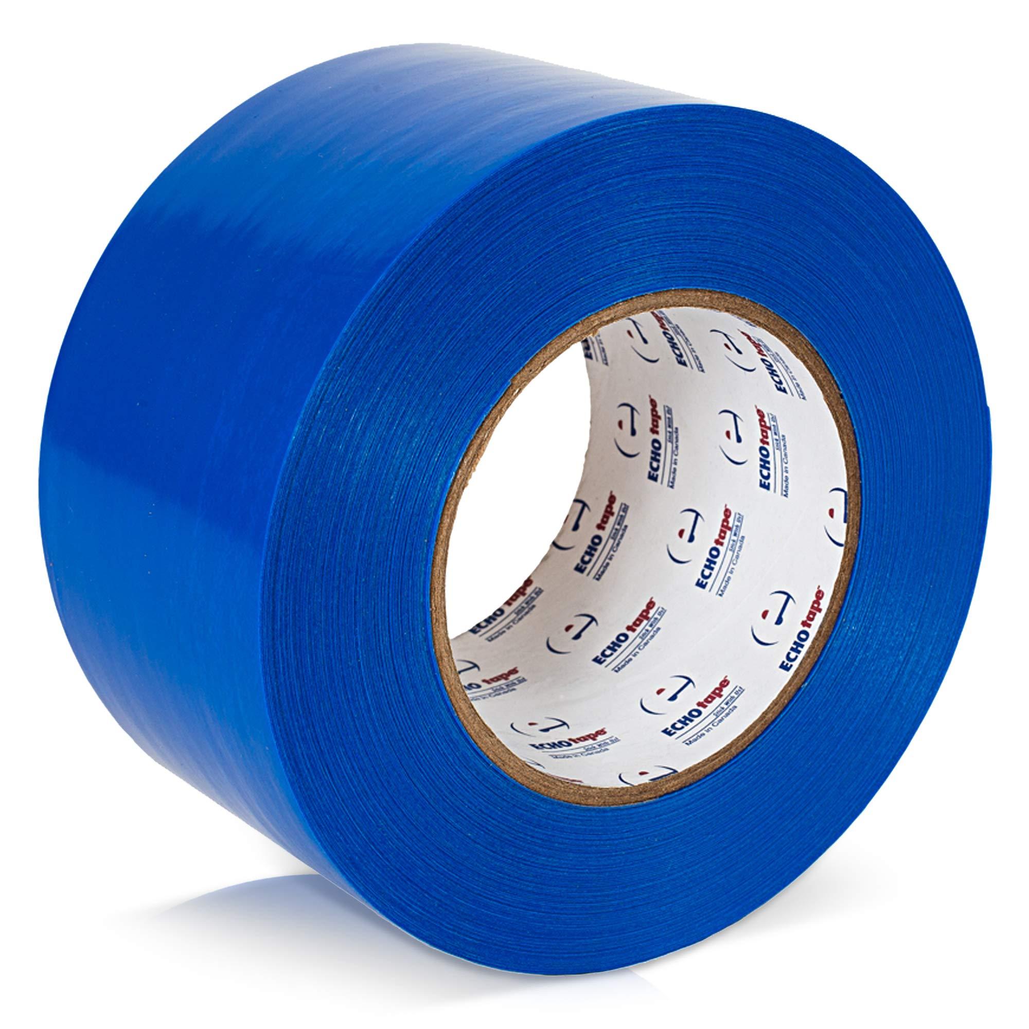 ECHOtape VI-N6120 Multi Purpose No Residue Polyethylene Vinyl Tape | Multi Purpose Tape | No Residue Masking Tape for Windows & Doors | High Performance Adhesive Tape| Stucco Contractors Tape