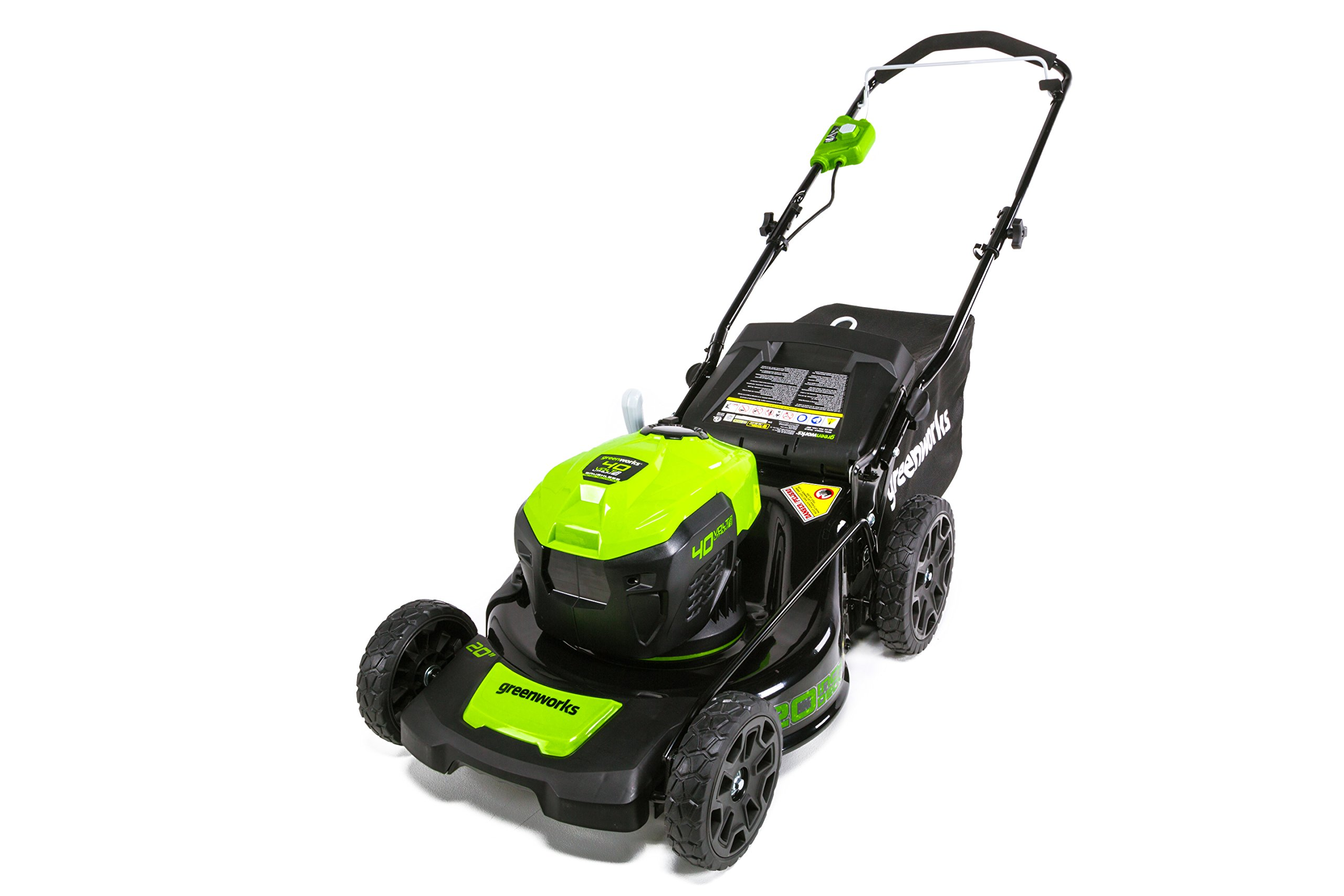 GreenWorks G-MAX 40V 20'' Brushless Dual Port Lawn Mower, Battery and Charger Not Included MO40L00