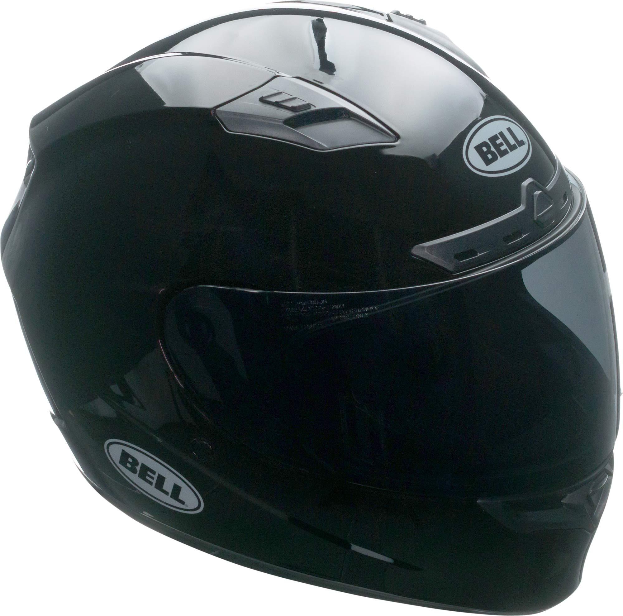 Bell Qualifier DLX MIPS Full-Face Motorcycle Helmet (Solid Black, Medium)