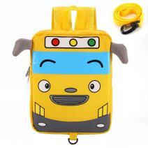 willikiva Cute Bus School Toddler Backpack for Kids Boys Girls Waterproof Bags